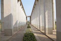 Allied War Memorial Cemetery (Htauk Kyant) Stock Image