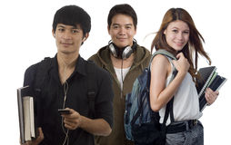 Allievi adolescenti Fotografia Stock Libera da Diritti
