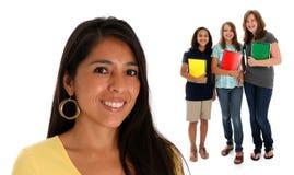 Allievi adolescenti Immagine Stock Libera da Diritti