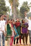 Allievi che protestano la sosta di libertà, Bangalore Immagine Stock