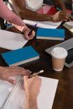 Allievi che studiano insieme Fotografia Stock Libera da Diritti