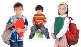 Allievi dei bambini Immagine Stock