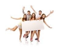 allievi felici del gruppo Immagine Stock