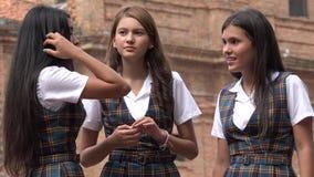 Allievi femminili Immagini Stock Libere da Diritti