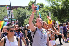 Allievi gai Fotografia Stock Libera da Diritti