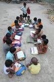 Allievi indiani del villaggio. Immagini Stock Libere da Diritti