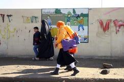 Allievi a Kirkuk Immagini Stock Libere da Diritti