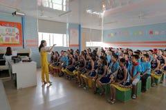 Allievi sul corso del coro Immagine Stock