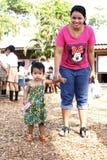 Allievi tailandesi Immagini Stock Libere da Diritti