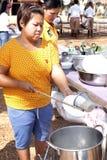 Allievi tailandesi Fotografie Stock Libere da Diritti