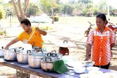 Allievi tailandesi Immagini Stock