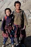 Allievi tibetani Immagini Stock