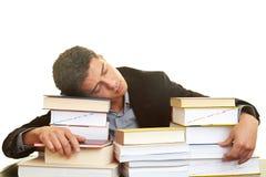 Allievo addormentato Fotografie Stock Libere da Diritti