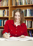 Allievo adolescente felice Fotografia Stock