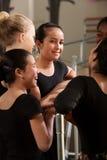 Allievo adolescente felice di balletto Immagini Stock Libere da Diritti