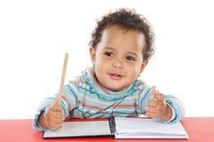 Allievo adorabile del bambino Fotografia Stock Libera da Diritti