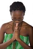 Allievo africano Immagini Stock Libere da Diritti