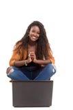 Allievo africano Fotografia Stock Libera da Diritti