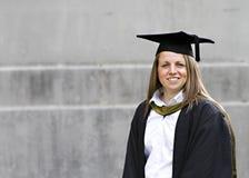 Allievo alla sua graduazione Immagine Stock Libera da Diritti