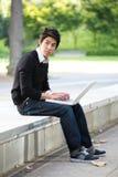 Allievo asiatico Fotografia Stock