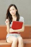 Allievo asiatico Fotografia Stock Libera da Diritti