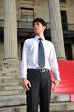 Allievo asiatico laureato 3 Immagini Stock Libere da Diritti