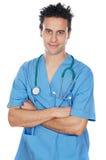 Allievo attraente della medicina Immagine Stock
