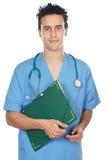 Allievo attraente della medicina Fotografie Stock