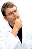 Allievo attraente dello scienziato Immagine Stock