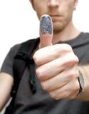 Allievo biometrico Fotografia Stock