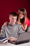 Allievo dei giovani delle coppie Immagine Stock Libera da Diritti