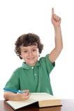 Allievo del bambino Immagini Stock Libere da Diritti