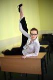 Allievo dell'acrobata Fotografia Stock Libera da Diritti