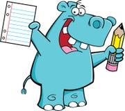 Allievo dell'ippopotamo Immagine Stock Libera da Diritti