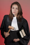 Allievo della scuola di diritto Fotografia Stock