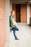 Allievo della scuola secondaria Fotografia Stock