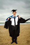 Allievo di graduazione Immagine Stock