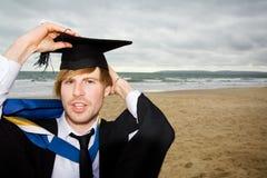 Allievo di graduazione Fotografie Stock