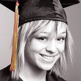 Allievo di laurea Immagine Stock Libera da Diritti