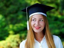 Allievo di laurea felice Immagine Stock Libera da Diritti