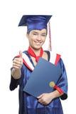 Allievo di laurea sicuro Immagine Stock Libera da Diritti