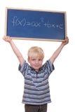 Allievo di per la matematica Fotografia Stock