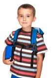 Allievo elementare del ragazzino Fotografie Stock