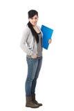 Allievo femminile Fotografie Stock Libere da Diritti