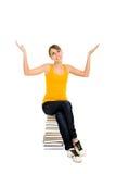 Allievo femminile Immagini Stock Libere da Diritti