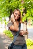 allievo femminile Fotografie Stock