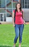 Allievo femminile adorabile Fotografie Stock Libere da Diritti