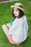 Allievo femminile asiatico Immagine Stock