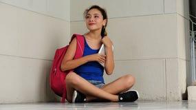 Allievo femminile attraente Fotografia Stock Libera da Diritti