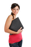 Allievo femminile sicuro Fotografia Stock Libera da Diritti